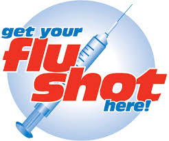 Get your flu shot here!