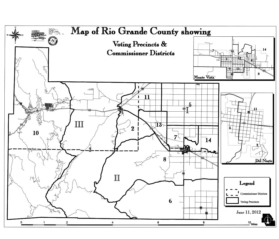 Rio Grande County Voting Precints